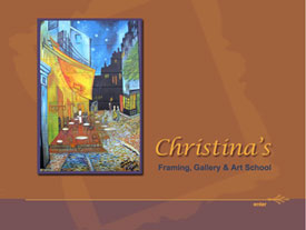 christina's splash page